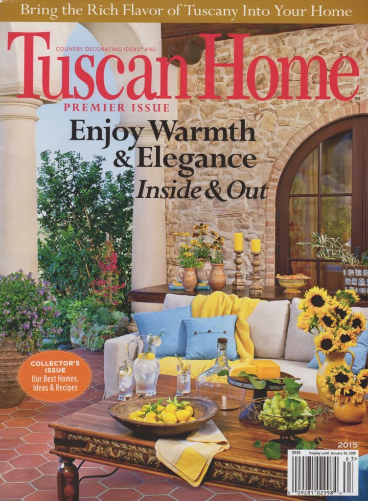 Tuscan Home Magazine 2015